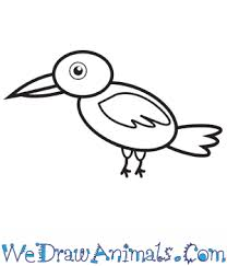 Love drawing but run out of cool ideas to draw when you are bored? How To Draw A Simple Crow For Kids
