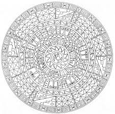 Printable Mandala Coloring Pages Adults Tagged