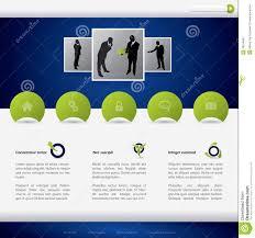 Business Website Templates Business Website Template Design Stock Vector Illustration Of Blog 15
