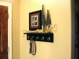 Decorative Coat Racks Wall Mounted Decorative Coat Hooks Wall Mounted Rack Shelf Contractor Decor 56