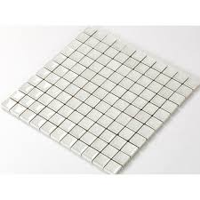 le glass tile with porcelain base bathroom wall tiles white ice ed crystal glass mosaic tile backsplash a001