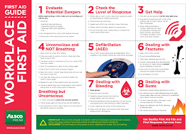 Free Printable First Aid Chart Free Printable First Aid Poster Pdf Download Alsco Nz