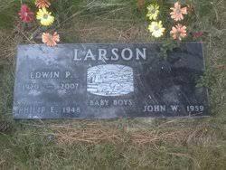 John Wesley Larson (1959-1959) - Find A Grave Memorial