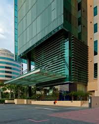 office exterior. ibp plot office building in singapore exterior