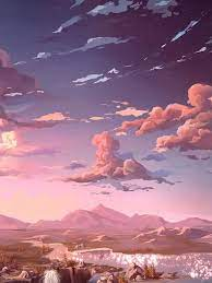 Pink Aesthetic Background Anime - Pink ...