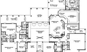 Amazing Bedroom One Story House Plans   House Plans     One Story Bedroom Bath Mediterranean Style House Plan