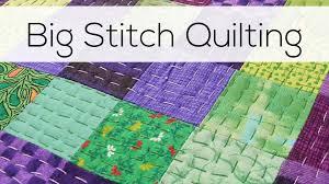 Big Stitch Quilting - YouTube &  Adamdwight.com