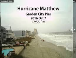 garden city beach. Animation Showing Garden City Beach Before And During Hurricane Matthew. (Source: Horry County
