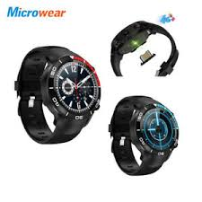 Microwear <b>H8 Smart Watch</b> Phone 5MP HD Camera <b>4G</b> SIM Voice ...