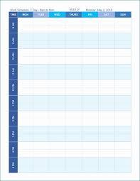 Printable Work Schedule Templates Free Free Printable Work Schedule Better Employee Schedule Templates