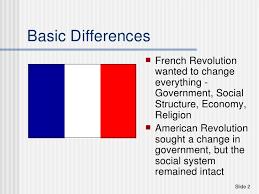 american revolution and french revolution venn diagram french and american revolutions