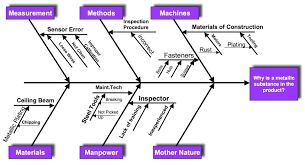 Cause Effect Diagram For The Certified Quality Engineer