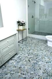 modern bathroom floor tiles. Pebble Bathroom Floor Tile The Island Stone Perfect  Modern Other For Small Modern Bathroom Floor Tiles