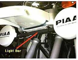 template the piaa light installation follow the instructions for mounting the light bar to the underside of the oil cooler area this is a fairly easy process