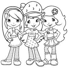 Small Picture 42 Strawberry Shortcake Coloring Pages for Free Gianfredanet