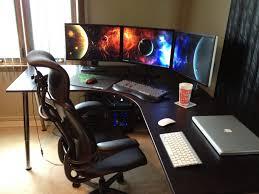 uncategorized gaming corner desk best of the most awesome images on the internet gaming setup