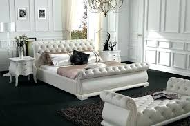 White Tufted Bed White Tufted Bedroom Set White Tufted Bed With ...