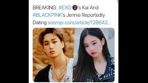 BLACKPINK JENNIE AND EXO KAI IS DATING ??? - video Dailymotion