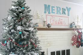 Most Beautiful Christmas Tree Decorations Ideas  Christmas Red Silver And White Christmas Tree