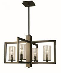 framburg lighting 1155 bn theorem 4 light dining chandelier in brushed nickel