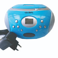 GLOBAL PORTABLE CD RADIO (GRCD 626) LIGHT BLUE COLOUR Radio \u0026 Players at Best Price In Malaysia | Lazada