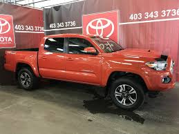 Used 2016 Toyota Tacoma 4WD TRD Sport Manual Transmission 4 Door ...
