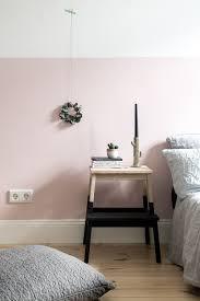 Eine rosa Wand für das Schlafzimmer + neue Bettwäsche aus Leinen ...
