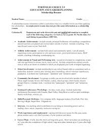 high school resume for scholarship applications cipanewsletter resume scholarship how to write a high school resume for college