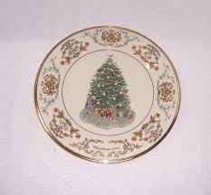 Lenox Christmas Plates  EBayLenox Christmas Tree Plates
