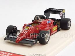 TAMEO TMB020 Ferrari 156-85 Winner GP Germany 1985 Michele Alboreto 1/43