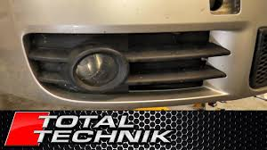 2006 Audi A4 Fog Light Grill How To Remove Fog Light Grille Audi A4 S4 B6 2001 2005 Total Technik