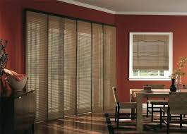 enchanting shades for sliding glass doors sliding glass door coverings budget blinds woven wood panel track