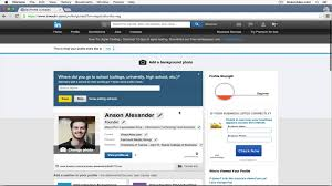 Linkedin Tutorial 2015 Quick Start Youtube