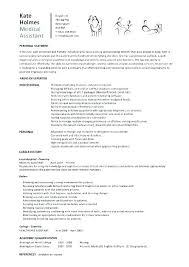 Resume Template Free Download Medical Assistant Student Resume
