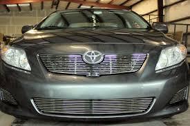 2010 Toyota Corolla Le 2Pc Bumper Accent Billet Grille Kit