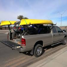 truck canoe rack kyk crrier homemade bed system racks canada