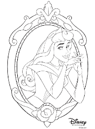 Cut and color decorations for everyday. Disney Princess Aurora Coloring Page Crayola Com