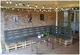 How to Make Pallet Patio Furniture Pallets Furniture Wooden
