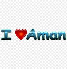 aman love name heart design png ajay