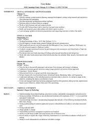 Hacker Resume Samples Velvet Jobs