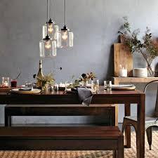 west elm lighting chandelier 3 jar glass chandelier west elm glass pendant for glass 3 light