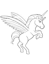Unicorn Coloring Picture Unicorns Coloring Pages Free Unicorn