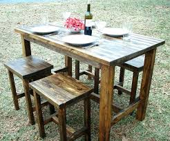full size of diy round pub table plans set bar height kitchen licious rustic ideas tall