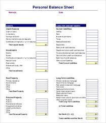 basic balance sheet personal balance sheet template fresh portray basic helendearest