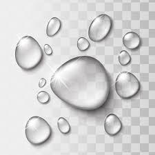 Free素材 シャイニーな水滴のイラスト Maru八memo2