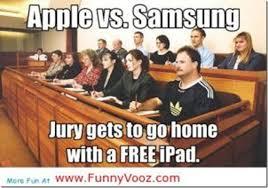 Apple vs Samsung verdict- Funny quotes, Memes, Cartoons, Trolls ... via Relatably.com