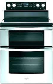 frigidaire flat top stove gallery range