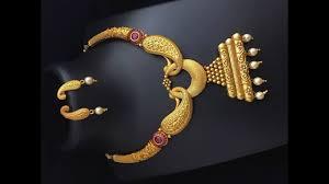 Gold Jadtar Set Design Gold Necklace With Pendant Set Designs Latest Gold Necklace Design Collections