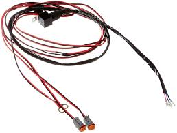 amazon com rigid industries 40196 wire harness for set of d2 rigid industries wiring harness installation at Rigid Industries Wiring Harness