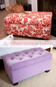 popular of velvet tufted storage bench with glitter and goat cheese diy tufted storage bench glitter